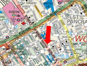 Location of EDF office