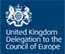 UK delegation to council of Europe