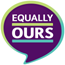 The Equally Ours logo.