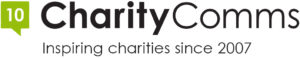 The CharityComms logo.