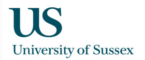 The University of Sussex logo.