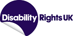 The Disability Rights UK logo.