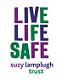 Logo for the Suzy Lamplugh Trust.