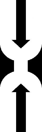 Banner logo overlay